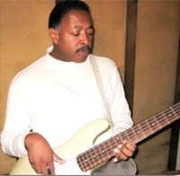 Photo: Lee Smith on Electric Bass Guitar