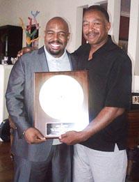 Photo: Grammy Award 1978 to Lee Smith